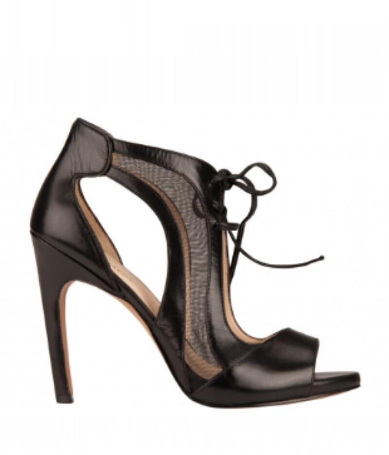 Zapatos en piel, Nine West, $1,990; centros comerciales.