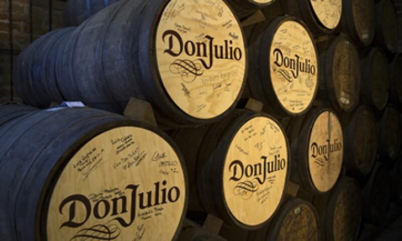 Don Julio 70 obtuvo en 2013 el premio de los distribuidores mexicanos a la mejor marca del año. (Foto: Getty Images)