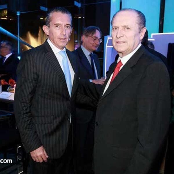 Miguel Osio y Ernesto Moya