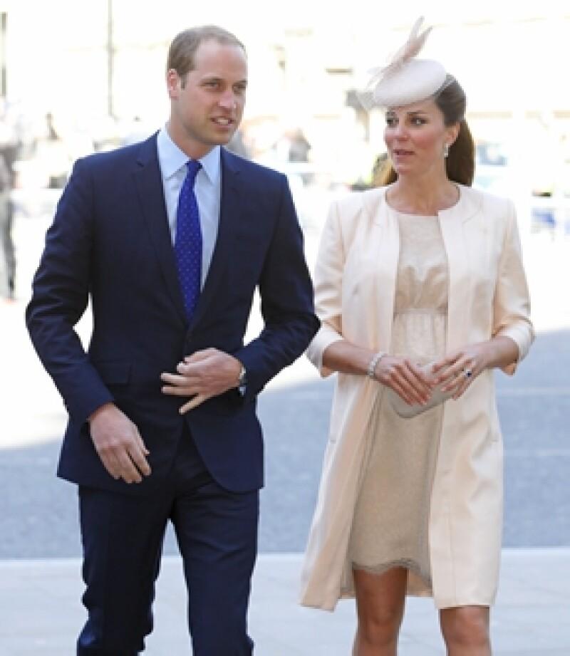 En cualquier momento los Duques de Cambridge se convertirán en padres y pasan sus días entre el Palacio de Kensington y la casa de los Middleton.