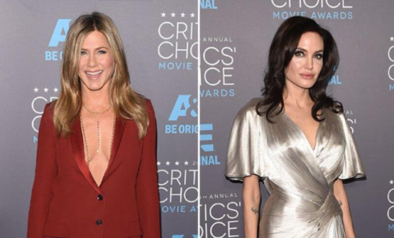 """Tal parece que los días del """"Team Jolie"""" y """"Team Aniston"""" han llegado a su fin después de que la actriz de Friends asegurara no tener problema algún con la esposa de Brad Pitt."""