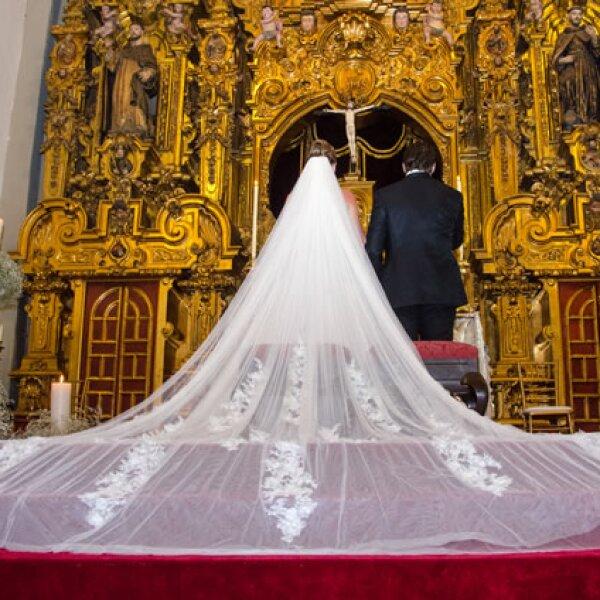 María Inés y Gustavo Guzmán se casaron el 7 de septiembre en la Ciudad de México.