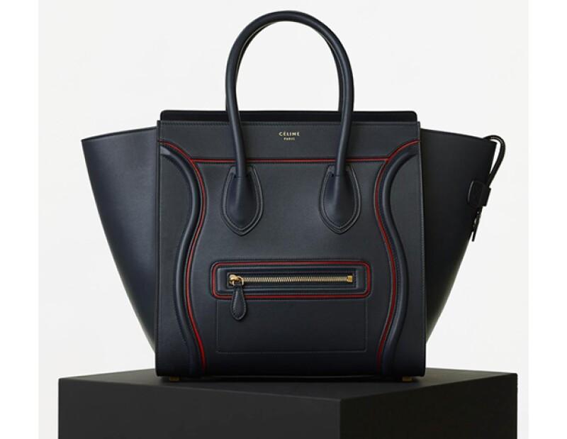 Tricolor Luggage Tote de Céline.