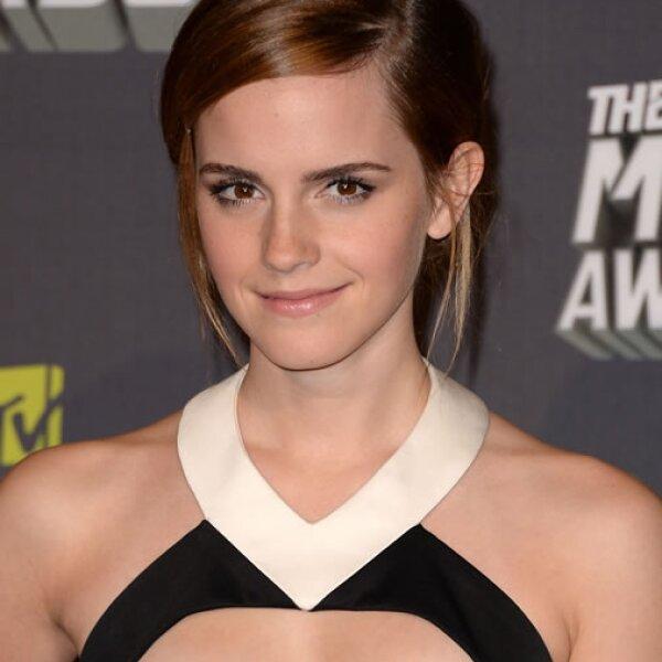 Emma Watson comenzó una carrera en Filología Inglesa en la prestigiosa Universidad de Brown en Estados Unidos.