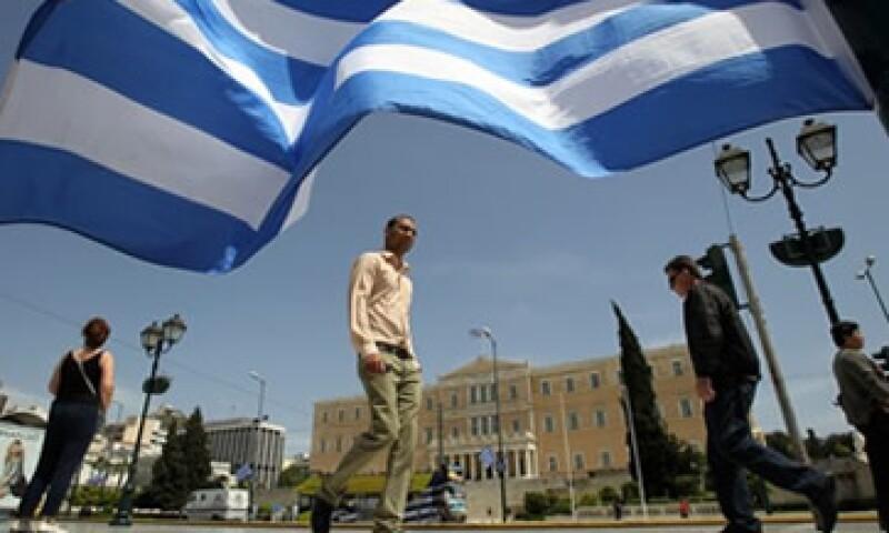 La Unión Europea espera que Grecia sufrá una contracción del 4.75% en el Producto Interno Bruto.   (Foto: AP)