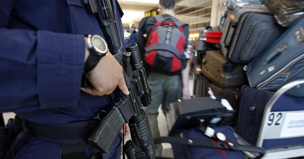 Blindar la seguridad aeroportuaria al estilo del 11-S