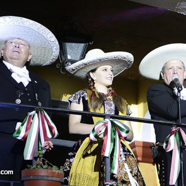 Vicente Ransanz, Andrea Franco y Luis Franco