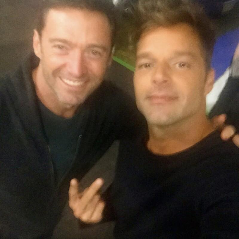 Los actores se encontraron el el foro de grabación del reality show The Voice, en Australia, y a ambos les dio mucho alegría verse, pues compartieron el encuentro en Instagram.