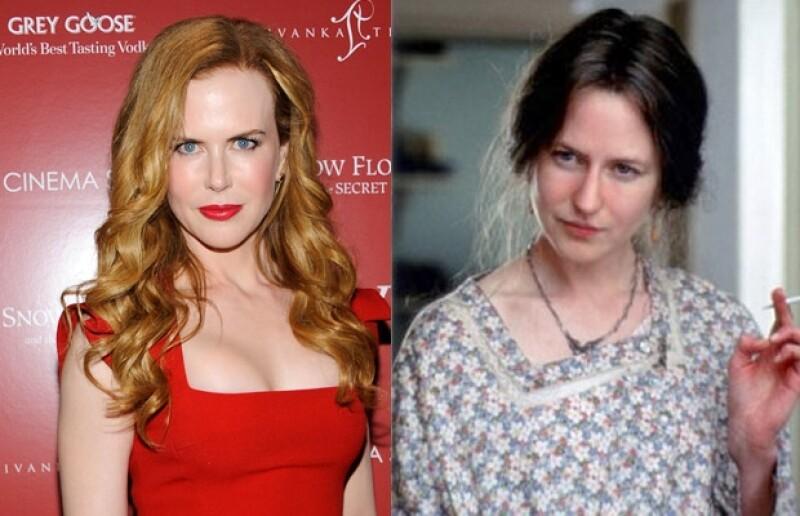 Nicole Kidman se transformó en Virginia.