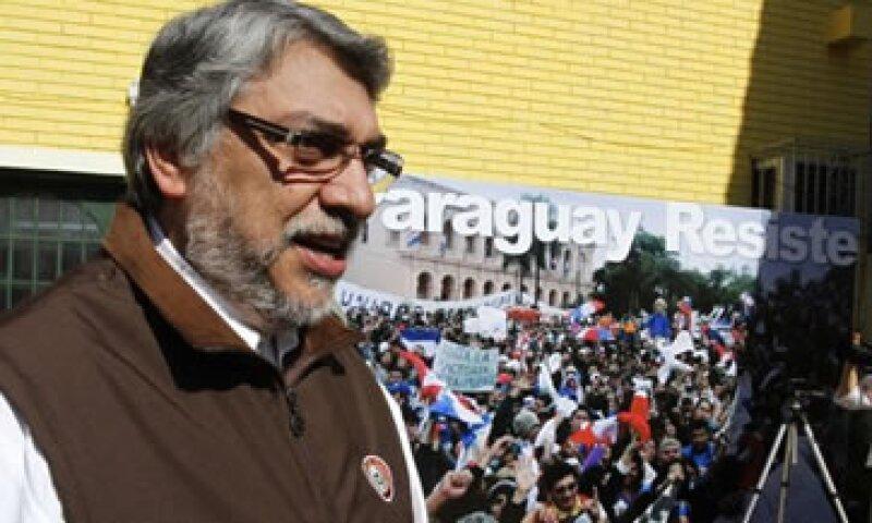 Los gobernantes que integran el Mercosur califican como un golpe de Estado a la salida del ex presidente paraguayo Fernando Lugo. (Foto: Reuters)