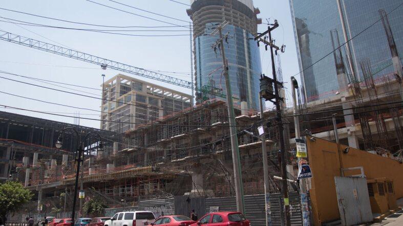Construcción Mitikah