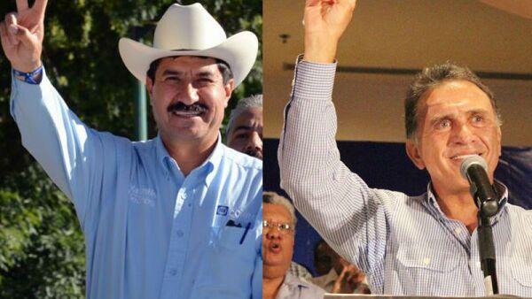 Los candidatos por los gobiernos de Veracruz y Chihuahua han prometido encarcelar a los actuales mandatarios estatales Javier y César Duarte, respectivamente.