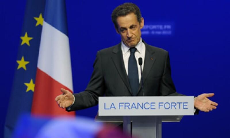 El mandatario Nicolas Sarkozy dijo que aceptaba la responsabilidad de su fracaso en las elecciones presidenciales. (Foto: Reuters)
