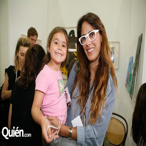 Juliana Cobo y Erika Basave en Zona Maco.