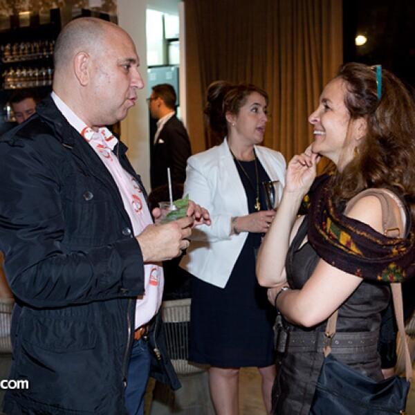 Ignacio Prado y Alejandra Hierro