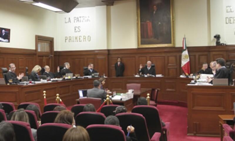 El Pleno del máximo tribunal retomará la discusión en su sesión del martes.  (Foto: Cuartoscuro)
