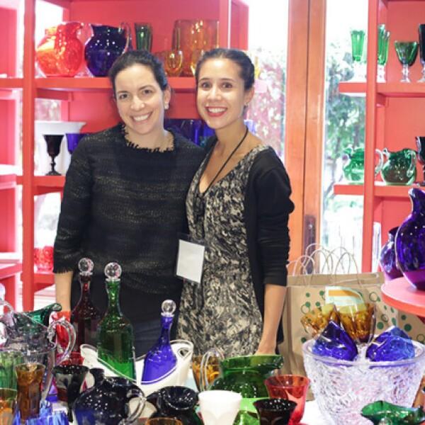 Sofía Cabal y Carolina Mosiño