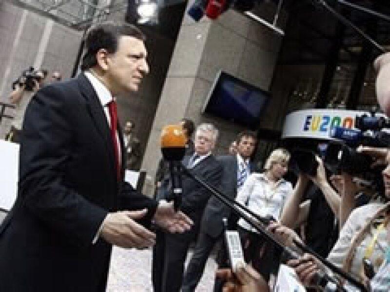 José Manuel Durao Barroso preside la cumbre de verano de la UE en Bruselas.  (Foto: AP)
