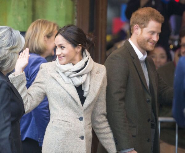 Prince Harry and Meghan Markle visit to Reprezent 107.3FM Radio station, London, UK - 09 Jan 2018