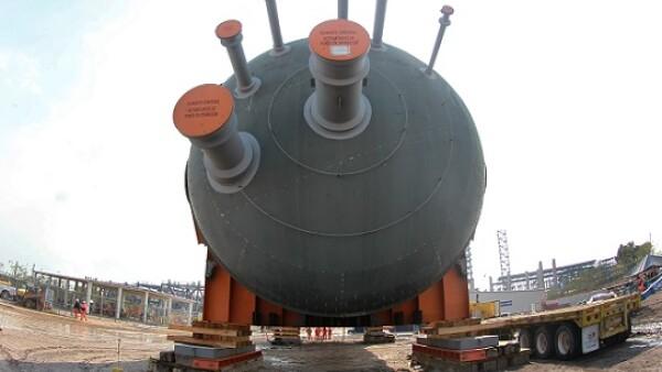 Refiner�a Tula colocaci�n tambor