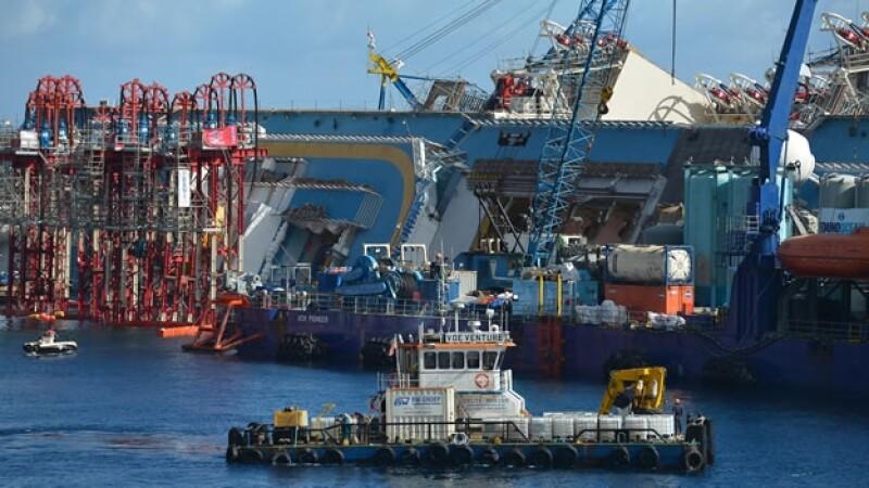 costa concordia, rescate, italia, barco