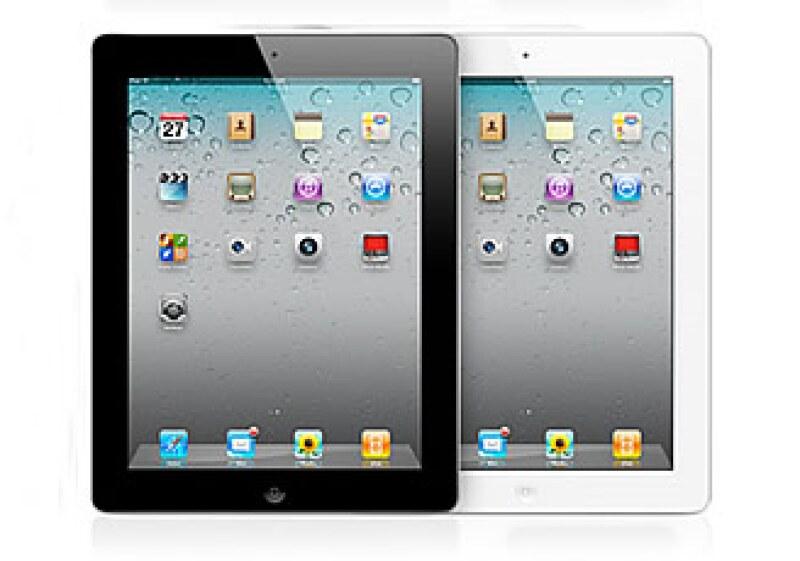 Los precios de la iPad 2 van desde 7,499 pesos hasta 12,499 pesos. (Foto: Cortesía Apple)