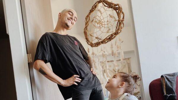 Sergio Mayer Mori y Mila Mayer.