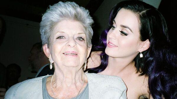 Katy Perry y su abuela