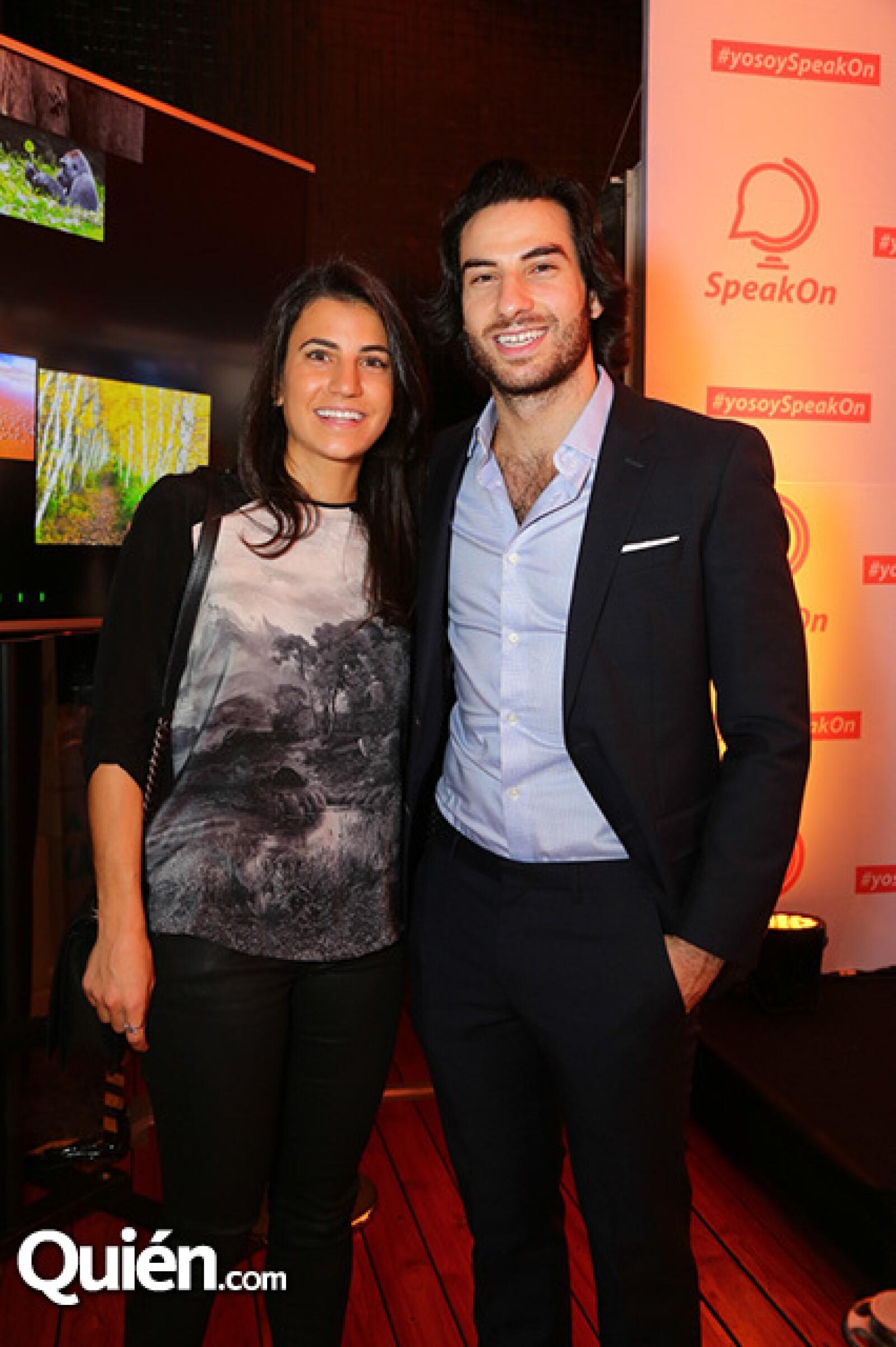 Gina y Alberto Siman