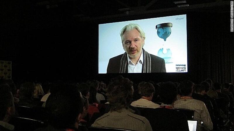 Julian Assange SXSW festival