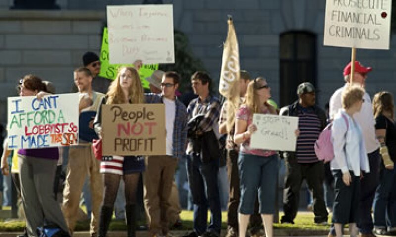 Ciudades del este asiático hasta Europa y Norteamérica vieron protestas en las que se denunciaba el capitalismo, la inequidad y crisis económica. (Foto: AP)
