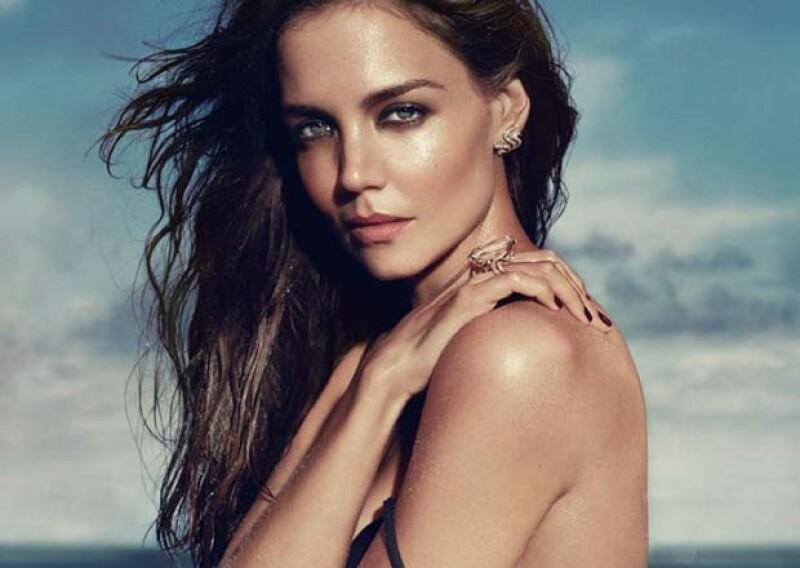 Junto a Kate Moss y Catherine Deneuve, Katie se convierte en otra cara de la reconocida marca de joyas.