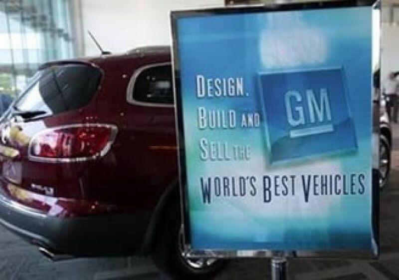 General Motors batalla para recuperar parte del mercado automotriz de EU. (Foto: Reuters)