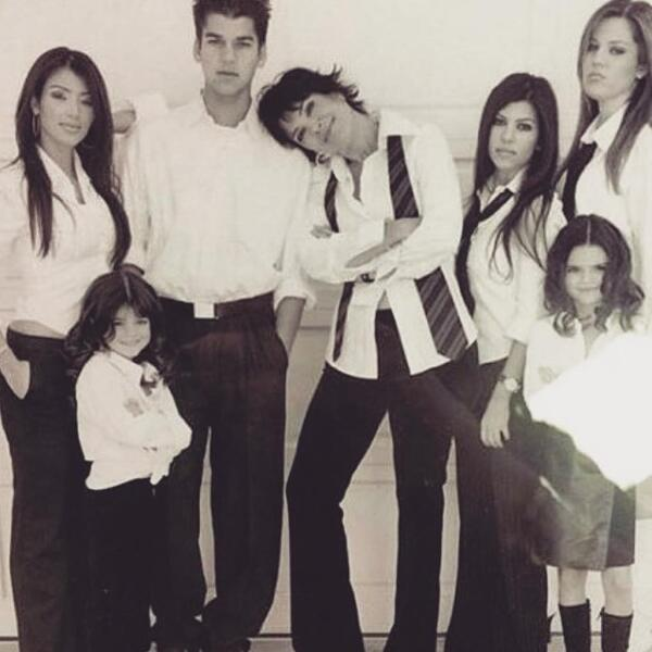 Kris Jenner y sus hijos