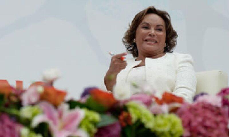Elba Esther Gordillo declaró ingresos de 2009 a 2012 por 1.1 millones de pesos. (Foto: Notimex)