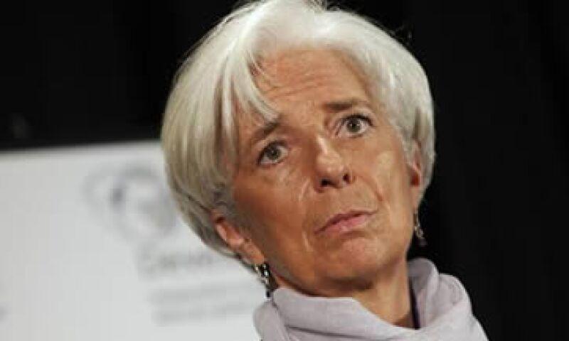 Christine Lagarde argumentó a favor de un ministro de Finanzas común para la eurozona. (Foto: Reuters)