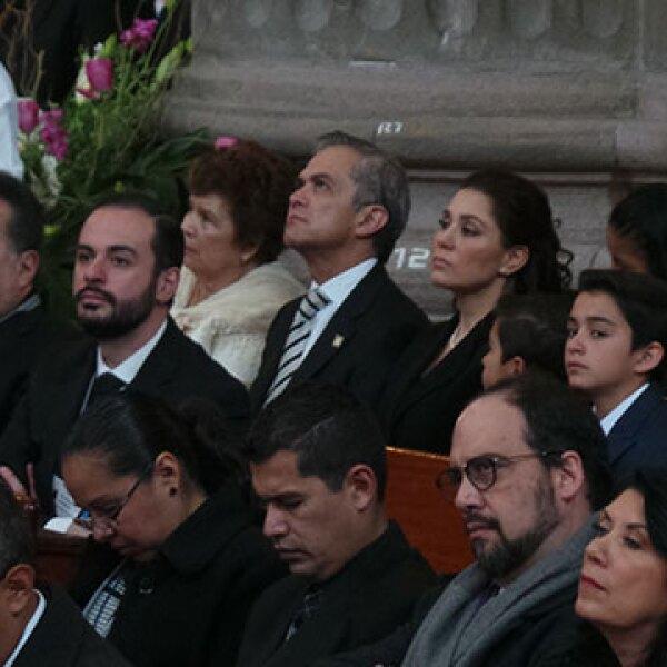 Miguel Ángel Mancera y otros servidores públicos también estuvieron presentes.