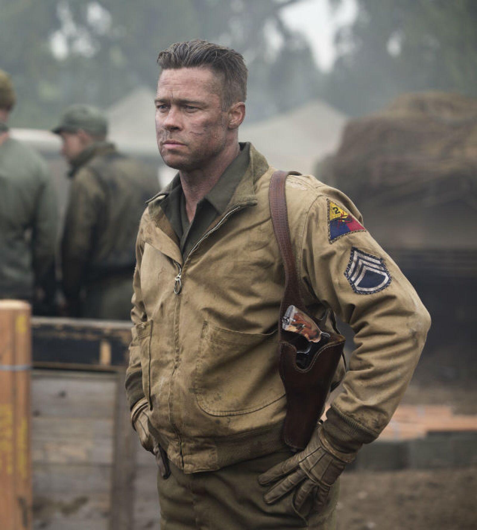 Brad Pitt lidera a una tropa en la Segunda Guerra Mundial en la película bélica Fury.