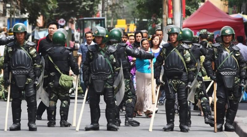 Xinjiang China ataques