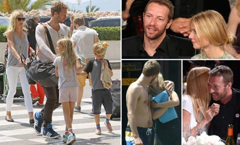 Chris y Gwyneth cumplirían 11 años de casados a finales de este año. Durante todo ese tiempo y desde que iniciaron su noviazgo fueron muy pocas veces las que la pareja se dejó ver compartiendo un momento juntos o en familia.
