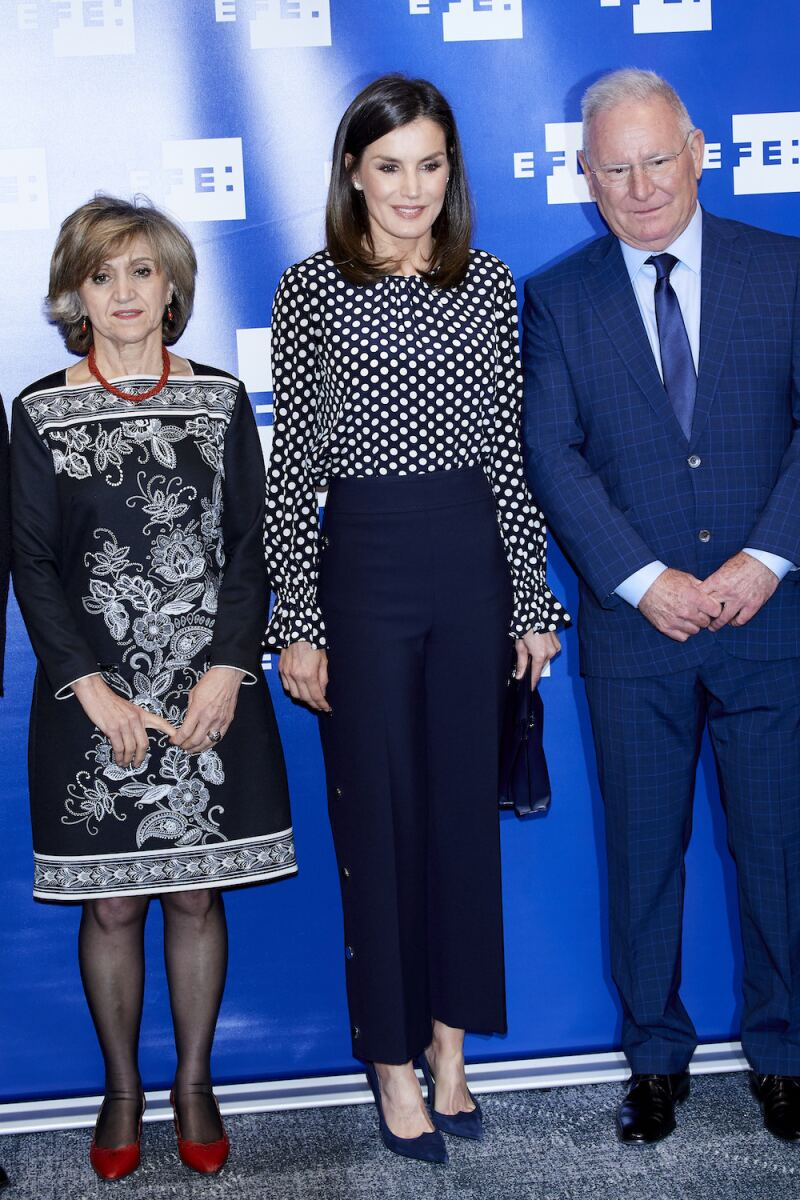Queen Letizia Of Spain Attends 'Medios De Comunicacion Y Salud Mental' Event In Madrid