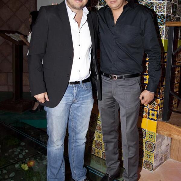 Fabián Gómez y Javier Rojo