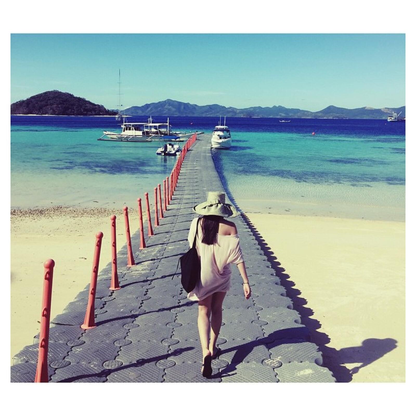 En los muelles de la Isla Coron, en Filipinas.