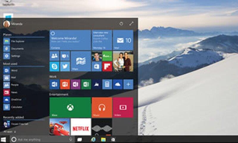 Microsoft revivió el Menú de Inicio en Windows 10. (Foto: Cortesía Microsoft)