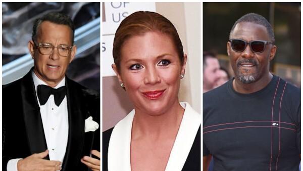 Tom Hanks, Sophie Grégoire e Idris Elba