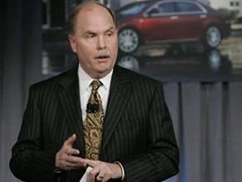 Fritz Henderson tiene el objetivo de sacar a GM de la crisis financiera que enfrenta. (Foto: AP)