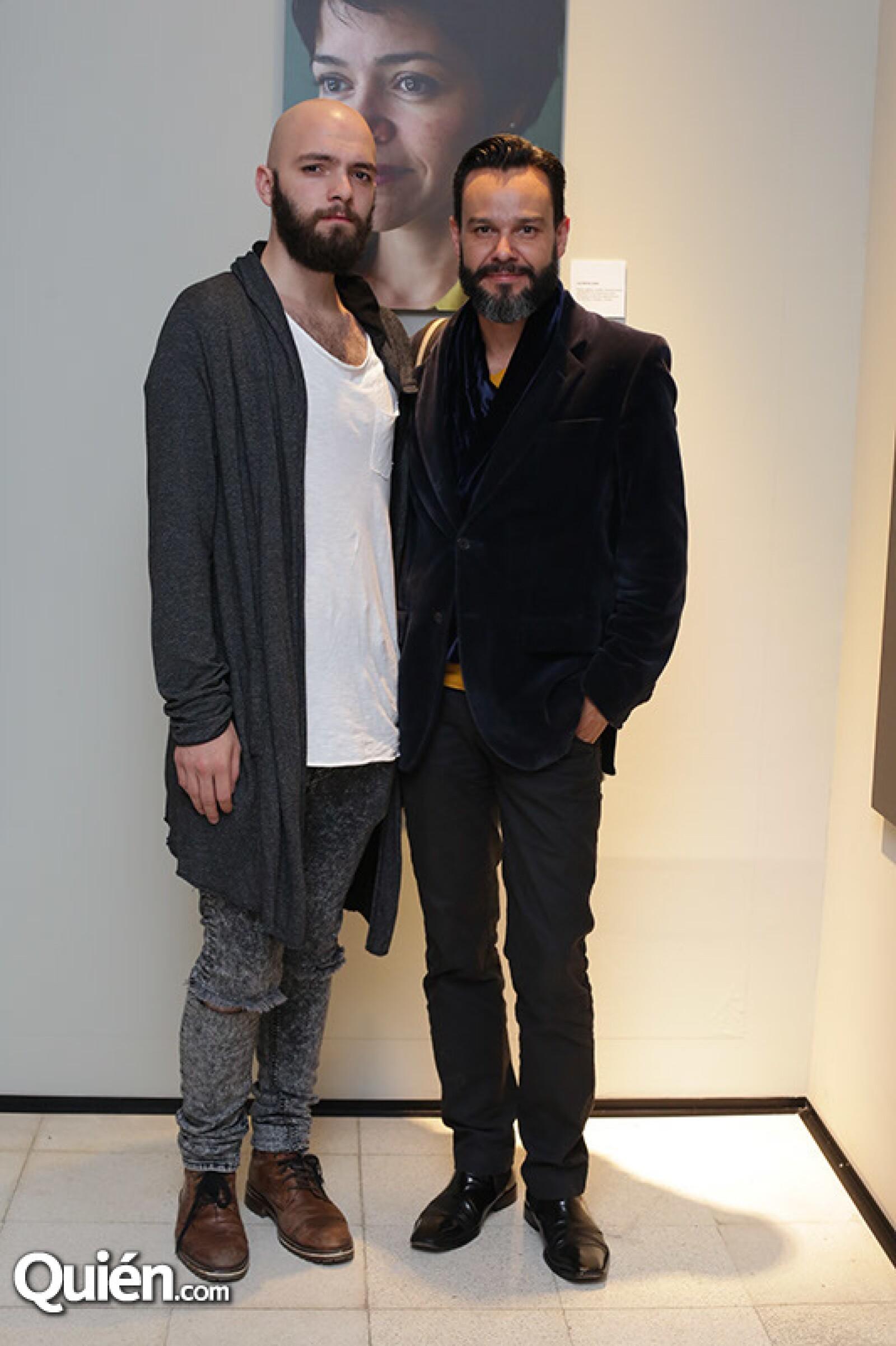 Leonardo Floresvillar y Jorge Medina