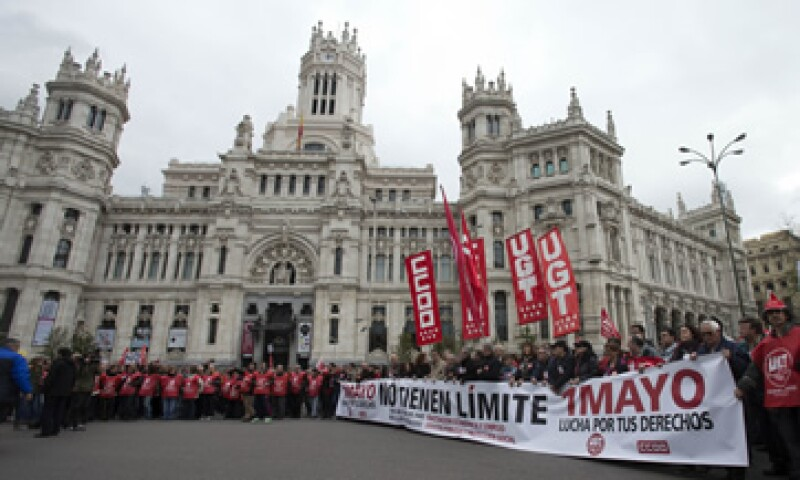 En España el desempleo se sitúa en un récord del 27%. (Foto: AP)