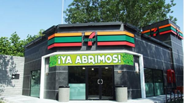 Para hacer un depósito, sólo será necesario que el trabajador presente su CURP en caja. (Foto: Cortesía 7-Eleven México)