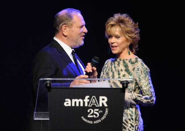 Jane Fonda Harvey Weinstein